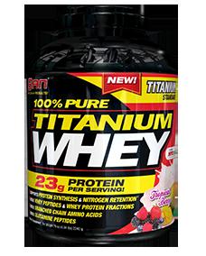 SAN Nutrition 100% Pure Titanium Whey 2.27 кг.