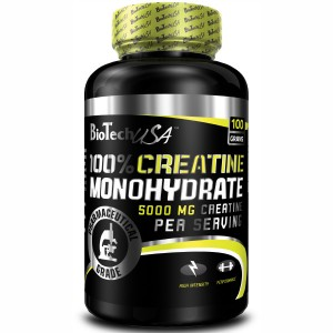 BioTech USA 100% Creatine Monohydrate 100 гр