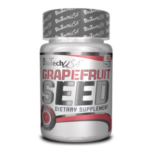 BioTech USA Grapefruit Seed / Семена от грейпфрут 600 мг. 60 таблетки