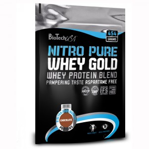 BioTech USA Nitro Pure Whey Gold 454 гр