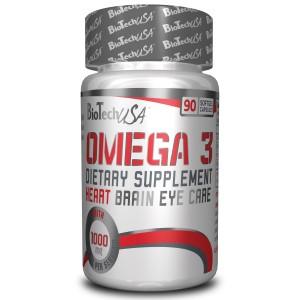 BioTech USA Omega 3 90 софтгел капсули