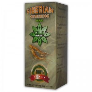 Cvetita Herbal SIBERIAN GINSENG MAX 100 мл. течен екстракт