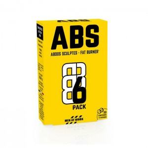 Eric Favre ABS6 PACK FAT BURNER 30 дъвчащи таблетки (30 дози)