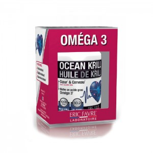 Eric Favre OCEAN KRILL OMEGA 3 / Масло от крил с Омега-3 60 ликвид капсули (30 дози)