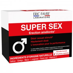 Eric Favre SUPER SEX 60 капсули (15 дози)