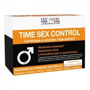 Eric Favre TIME SEX CONTROL 60 софтгел капсули (15 дози)