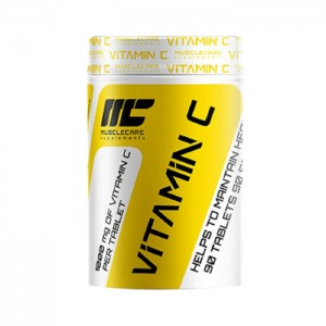 MuscleCare Vitamin C 1000 мг. 90 таблетки (90 дози)