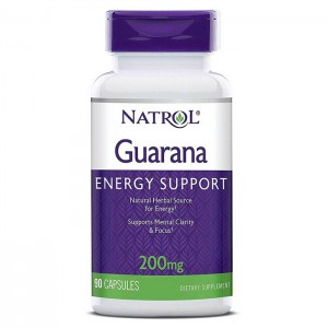 Natrol Guarana 200 мг. 90 капсули