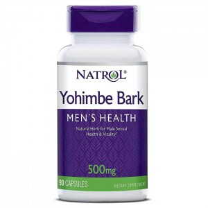 Natrol Yohimbe Bark 500 мг. 90 капсули
