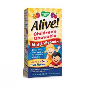 Nature's Way Alive! Дъвчащи мултивитамини за деца 120 таблетки