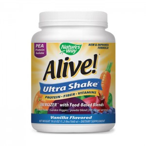 Nature`s Way Alive Ultra Shake / АЛАЙВ УЛТРА ШЕЙК Грахов протеин изолат 555 гр.