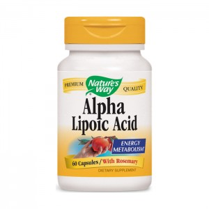 Nature's Way Alpha Lipoic Acid / Алфа-липоева киселина 360 мг. 60 капсули