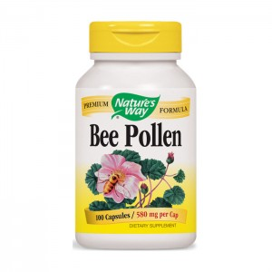 Nature's Way Bee Pollen / Пчелен прашец 580 мг. 100 капсули