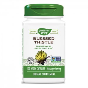 Nature's Way Blessed Thistle / Пресечка/Благословен трън 390 мг. 100 вегетариански капсули