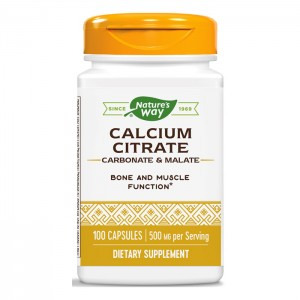 Nature's Way Calcium Citrate / Калциев цитрат 250 мг. 100 капсули