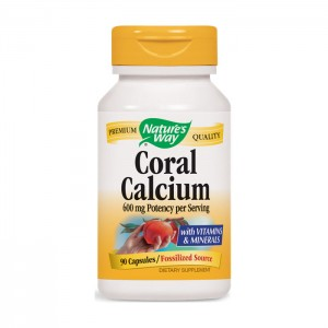 Nature's Way Coral Calcium / Корал калций 805 мг. 90 капсули
