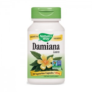 Nature's Way Damiana / Дамиана 400 мг. 100 вегетариански капсули