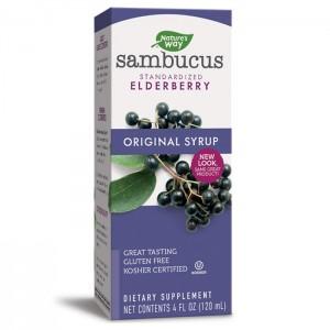 Nature's Way Sambucus Original Syrup / Сироп Самбукус/Черен бъз 120 мл.