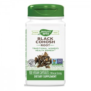 Nature's Way Black Cohosh / Гроздовиден ресник 540 мг. 100 вегетариански капсули