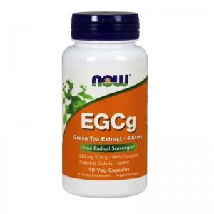 NOW Foods EGCG Green Tea Extract / Зелен чай с епигалокатехин галат 400 мг. 90 вегетариански капсули