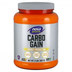 NOW Foods Carbo Gain Complex Carbohydrate 908 гр.