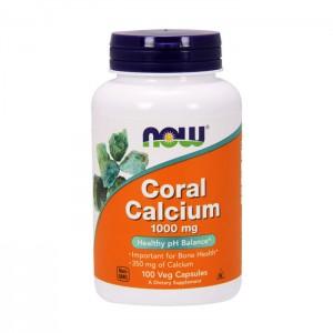NOW Foods Coral Calcium /Калций от корали 1000 мг. 100 вегетариански капсули