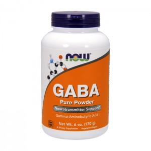 NOW Foods GABA / Гама аминобутирична киселина пудра 170 гр.