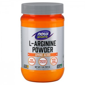 NOW Foods L-Arginine Powder 454 гр.