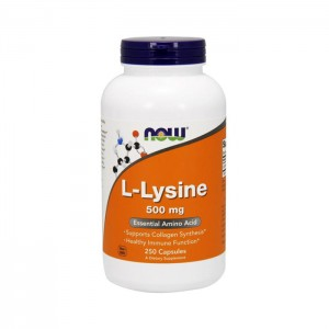 NOW Foods L-Lysine / Лизин 500 мг. 250 капсули