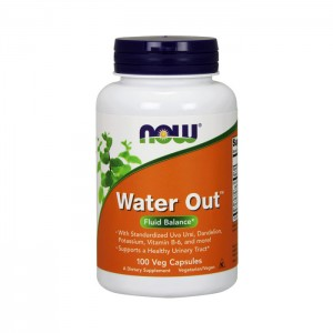 NOW Foods Water Out 100 вегетариански капсули (50 дози)