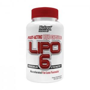 Nutrex Research Lipo-6 120 ликвид-капсули