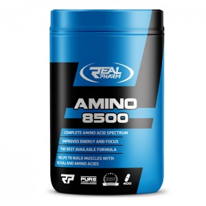 Real Pharm Amino 8500 400 таблетки (133 дози)