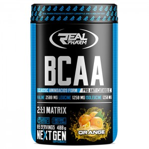 Real Pharm BCAA Instant 400 гр. (65 дози)