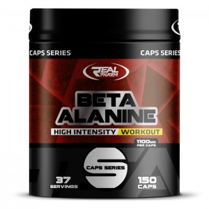 Real Pharm Beta Alanine 1100 мг. 150 капсули (150 дози)