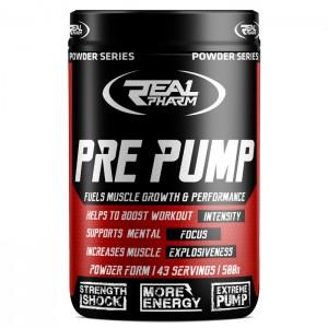 Real Pharm Pre Pump 500 гр. (43 дози)