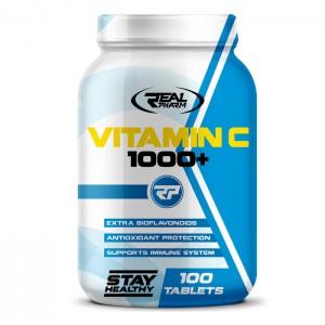 Real Pharm Vitamin C 1000+ 100 таблетки (100 дози)