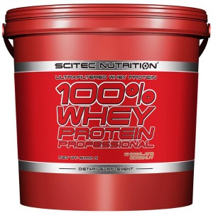 Scitec Nutrition 100% Whey Protein Professional 5000 гр. (166 дози)