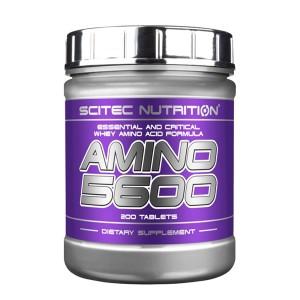 Scitec Nutrition Amino 5600 200 таблетки (50 дози)