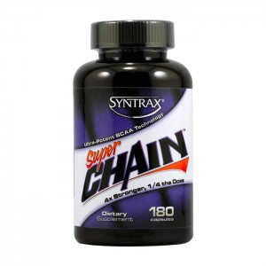 Syntrax Super Chain BCAA 180 капсули
