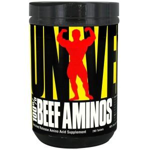 Universal Nutrition 100% Beef Aminos 200 таблетки (66 дози)