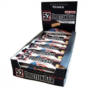 Weider 52% Protein Bar кутия (24 бр. х 50 гр.)