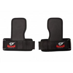 Тренировъчни подложки Armageddon Sports с накитници (Power Grip Lifting Pads)