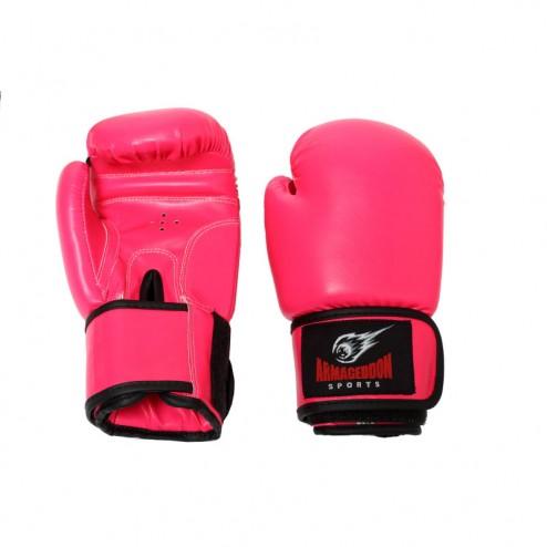 Дамски боксови ръкавици Armageddon Sports Pink