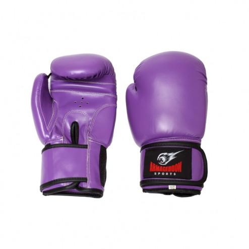 Дамски боксови ръкавици Armageddon Sports Purple