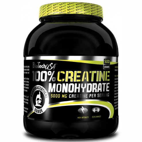 BioTech USA 100% Creatine Monohydrate 500 гр