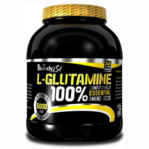 BioTech USA 100% L-Glutamine 240 гр