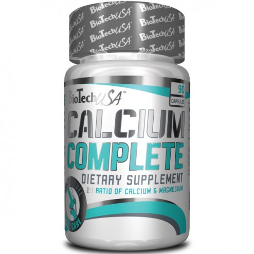 BioTech USA Calcium Complete/ Калций и магнезий 90 капсули