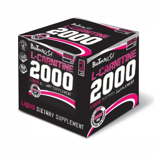 BioTech USA L-Carnitine 2000 кутия 20 х 25 мл.