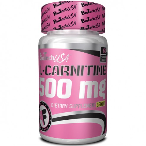 BioTech USA L-Carnitine 500 мг 60 таблетки