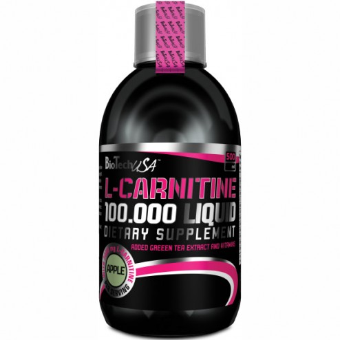 BioTech USA Liquid L-Carnitine 100,000 500 мл